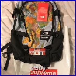 THE NORTH FACE x SUPREME Backpack World Map Shoulder Bag 2014 From Japan
