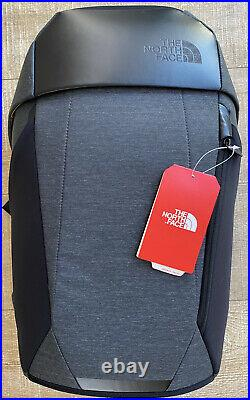 The North Face Access 02 Backpack 52L Laptop Hard Shell Heather Gray TNF Black