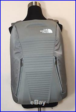 The North Face Access Pack Backpack Asphalt Gray Hard Shell