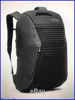 The North Face Access Pack Backpack TNF Black leather