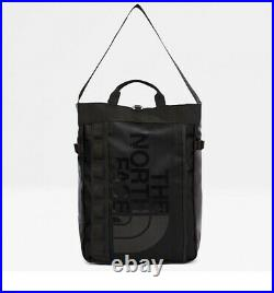 The North Face Base Camp 3 carrying options Tote/Shoulder/Backpack-TNF Black 19L