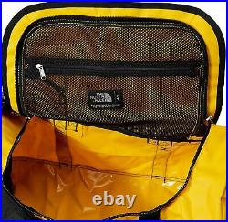 The North Face Base Camp Duffel Backpack Small Yellow