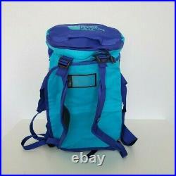 The North Face Base Camp Duffel Bag Backpack Medium 71l Antartica Bluebird