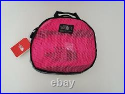 The North Face Base Camp Duffel Bag Backpack Small 50l Mr. Pink/ Tnf Black