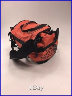 The North Face Base Camp Duffel Bag Haul backpack back pack waterproof orange