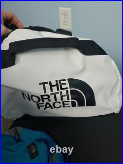 The North Face Base Camp Duffle Medium 70 L Tin Grey New Backpack Read