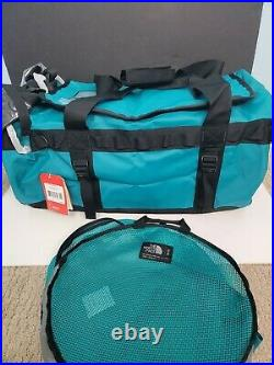 The North Face Base Camp Duffle Medium Fanfare Green 70L New Backpack