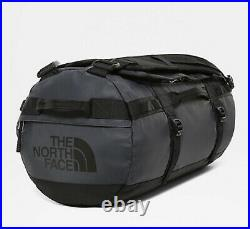 The North Face Base Camp Small Duffel/Backpack Bag, Aviator Navy/TNF Black 50L