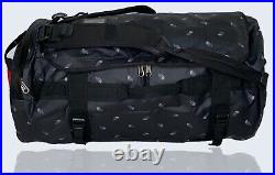 The North Face Basecamp Duffel Bag Backpack New LARGE TNF Logo Pattern