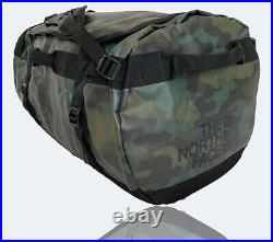 The North Face Basecamp Duffel Bag Backpack New Large CAMOUFLAGE