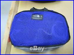 The North Face Basecamp Duffel Packable Travel Suitcase Backpack Bag Aztec Blue