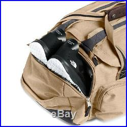 The North Face Berkeley Duffel / Backpack Medium Kelp Tan Dark Heather/Asphalt