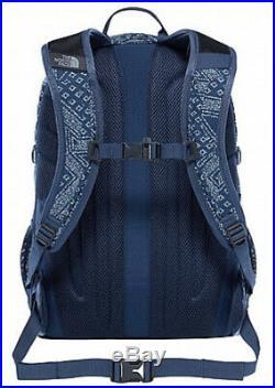 The North Face Blue Bandana Shady Print Backpack Bag