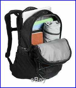 The North Face Borealis Backpack, TNF Black Light Directional Heather/TNF Red