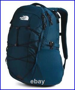 The North Face Borealis Classic Backpack Blue Black Rucksack 28L Bag RRP £90