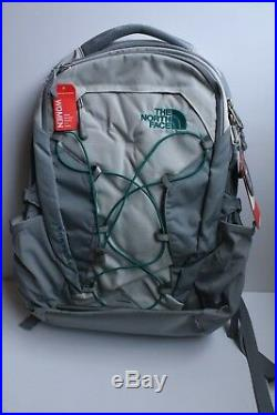 The North Face Borealis Women's Backpack Holds 15 Laptop Gray Light Gray NWT