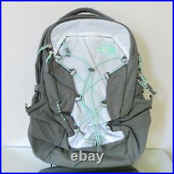 The North Face Borealis Women's Backpack Tnf White/surf Green