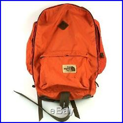 The North Face Brown Label VTG Orange Black Frame Backpack Large JP115702