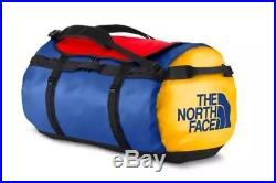 The North Face (CWV7 WAJ) Basecamp Duffle Bag XL BRIGHT COBALT BLUE/TNF BLACK