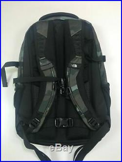The North Face Classic Borealis Backpack 15'' Laptop School Bag Camo Green/Black