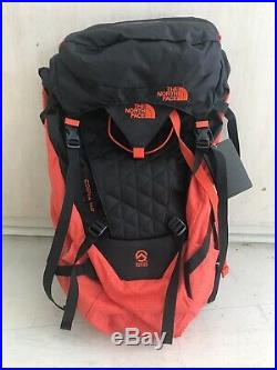 The North Face Cobra 52 (S/M, Blk/Orange)Lightweight Hiking/Climbing Backpack NEW