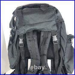 The North Face Extreme 80 Black Backpack Internal Frame Pack Travel Hiking Large