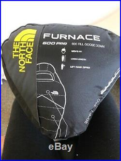 The North Face Furnace 20 Degree Backpacking Sleeping Bag Long Left Zip