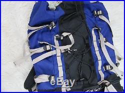 The North Face Internal Frame Hiking Backpack Med Model Granite Back Pack Blue