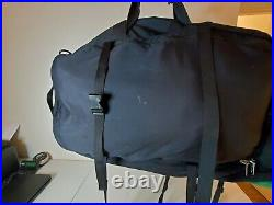 The North Face Large Hiking Backpack Waist LHASA Convertible Travel Bag 2 in 1