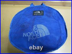The North Face M Base Camp Duffel Packable Travel Suitcase Backpack Turkish Sea