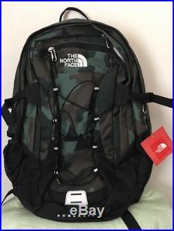 The North Face Men Classic Borealis Student Backpack School Bag BLACK/CAMO