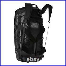 The North Face Mens Base Camp Duffel MEDIUM bag backpack TNF Black / White