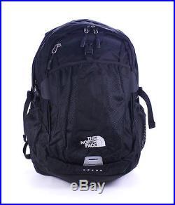 The North Face Mens TNF Black Reflect Recon Laptop Media Backpack Bookbag New