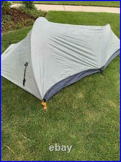 The North Face Mountain Marathon Blue Size 1-Person Backpacking 3-Season Tent