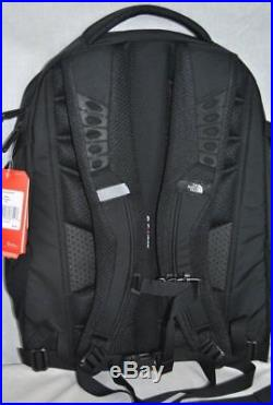 The North Face RECON Backpack 31L Pack 15 Laptop Bag AUTHENTIC TNF Black NEW