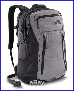 The North Face ROUTER TRANSIT BACKPACK ZINC GREY HEATHER / TNF BLACK