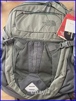 The North Face Recon Backpack- BRAND NEW with TAGS! Mist Gray/Duck Green