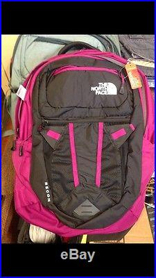 077ae2a62 The North Face Recon Women's Backpack Dramatic Plum Pink Black NWT ...