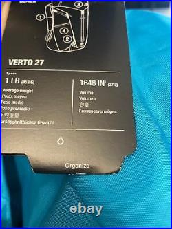 The North Face Summit Series Verto 27 Backpack/Daypack Bluebird/Black