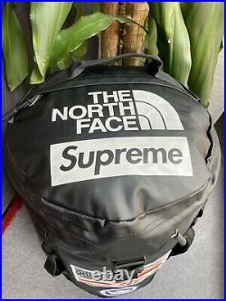 The North Face Supreme Trans Antarctic Big Haul USA Flag Backpack Black NEW