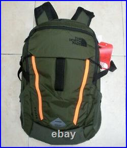 The North Face Surge Backpack- Dayback- Model Clho Green /orange- New