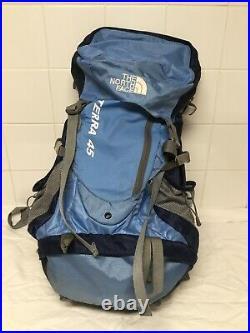 The North Face Terra 45 Blue Backpack Rucksack Bag