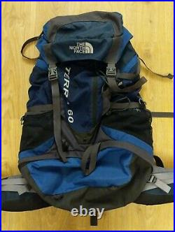 The North Face Terra 60 60L Litre Hiking Outdoor Backpack Rucksack Free P&P