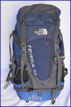 The North Face Terra 60 Internal Frame BackPack Hiking Trekking Pack Medium