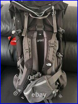 The North Face Terra 65 Backpack Brand New Colour Black grey Size Large/Xlarge