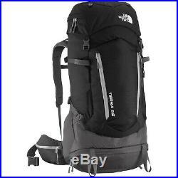 The North Face Terra 65 TNF Black/Asphalt Grey S/M Camping Hiking Backpack