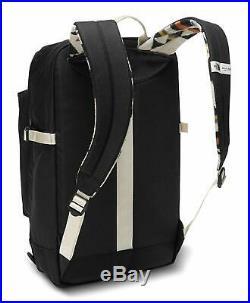The North Face Unisex Pendleton Crevasse Backpack SCHOOL STUDENT BAG White print