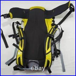 The North Face Unisex Phantom 50 Hiking Backpack Gray Yellow Colorblock L/XL New
