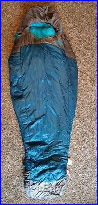 The North Face Women Cat's Meow Sleeping Bag Blue Coral Zip 20° F / -7° C NWT