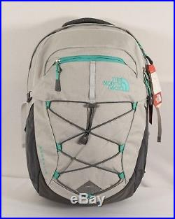The North Face Women's Borealis Backpack Glacier Gray White Heather (CHK3 3XC)